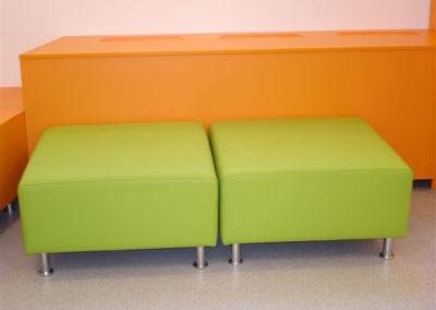 hockers-90-cm-vierkant-groen-2x